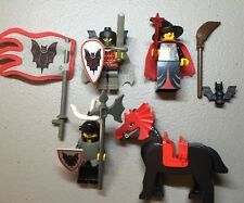 Lego Fright Knights With Accessories Compete Vintage Rare 90s Gothic Bats
