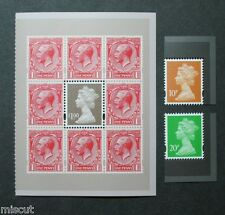 DY11 2014 MACHINS, GREAT WAR PSB 3v Litho Enschede U3013, U3014, U3021