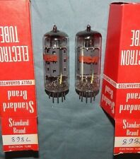 MINT NOS MATCHED PAIR 7868 RCA TUBES MADE IN ENGLAND BEST POWER TUBES 1960 ERA