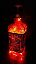Genuine Liquor Lights Jack Daniel's Whiskey bottle LED Bar Decor