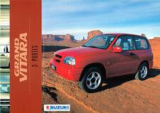 Suzuki-grand vitara - 3 portes-Brochure - 01/00 - F-NL-Correspondance