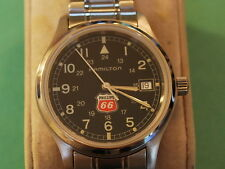 Nice HAMILTON S.S. Men's Dress Watch w/Date /24 Hrs Dial