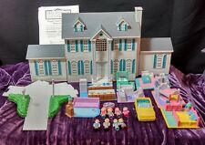 Galoob My Pretty Dollhouse Happy Heart Mansion Deluxe with people & more lot 3