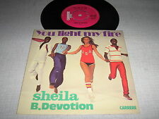 SHEILA B DEVOTION 45 TOURS UK YOU LIGHT MY FIRE
