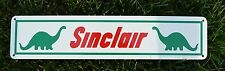 Sinclair Service Gas Pump SIGN Station DINO Vintage Looking Collectable  7day