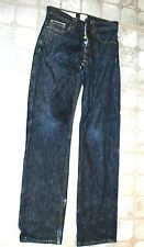 Love Japan Mens ACADEMI  Relaxed Selvage Denim Straight Leg Jeans Japan made~ 28