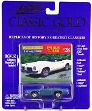 Johnny Lightning Classic Gold Collection #28 1974 Olds Cutlass Convertible MOC