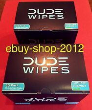 DUDE WIPES 30 PACK TWO BOX SPECIAL