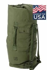 US Army Military Nylon Duffel Camping Survival Bat Bag NEW AUTHENTIC CIF ISSUED