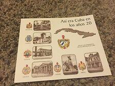 Historic Cuban book: Asi era Cuba en los años 20