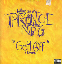 Prince And The New Power Generation - Gett Off 1991 Paisley Park 9 40138-0 Usa