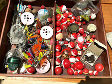 Lot of Vintage Fishing Hooks, Bobbers, Lures and More...