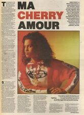 3/6/89Pgn45 Article & Picture 'ma Cherry Amour' Neneh Cherry's Views Of The Worl