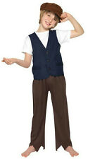 Smiffy's Child Victorian Poor Peasant Boy Oliver Twist Costume Size Large