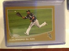 2013 TOPPS online Exclusive MINI GOLD ALEJANDRO DE AZA #583 WHITE SOX 11/62 MADE