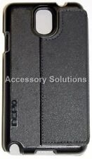 Incipio Samsung Galaxy Note 3 Watson Folio Wallet Stand Credit Card Cover Black