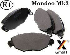 Ford Mondeo mk3 00-07 Jaguar X-type Front Brake Pad Set (4 pads) NEW Germany
