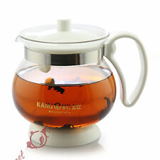 NEW 500ml Kamjove Heat-Resistant Glass Tea Art Cup Teapot Pot Mug Filter TP-204