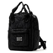 NWT Marc by Marc Jacobs Black Pretty Nylon Knapsack LARGE Backpack