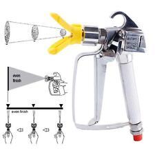 New 3600Psi Airless Paint Spray Gun Tip High Pressure No Gas Spray Machine OZ