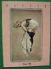 "Olivia De Berardinis Pinup Girl Art ""Diana Slip'' Quality Print Early Work MINT!"