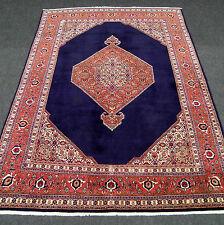Alter Orient Teppich Dunkelblau 352 x 257 cm Perserteppich Dark Blue Carpet Rug