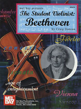 The Student Violinist Beethoven Violin & Piano Sheet Music Book Score & Part