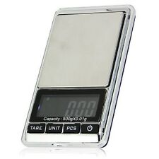 0.01 g - 500g Precision Pocket Digital Weighing Scales Gemstones Jewellery Gold