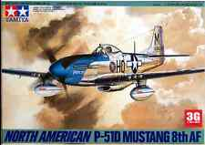 Tamiya 1/48 61040 North American P-51D Mustang - 8th Model Kit/Maquette FTZ62
