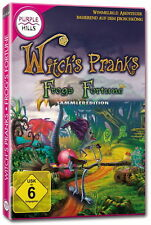 WITCH`S PRANKS * FROG`S FORTUNE * WIMMELBILD-SPIEL   PC DVD-ROM