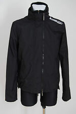 MENS SUPERDRY JACKET THE WINDCHEATER MESH LINING BLACK SIZE S SMALL EXCELLENT