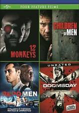 12 Monkeys / Children of Men / Repo Men / Doomsday Four Feature Films DVD, Bruce