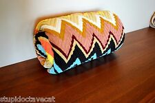 Missoni for Target **COLORE Throw Blanket** RARE! MULTI COLOR Chevron- with tags