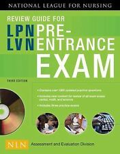 Review Guide for LPNLVN Pre-Entrance Exam, 3rd Edition-ExLibrary