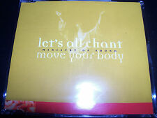 Ministry Of Sound Let's All Chant (Move Your Body) Aust CD Single