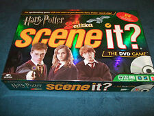 HARRY POTTER SCENE IT 2nd EDITION THE FAMILY DVD GAME BY MATTEL 2007