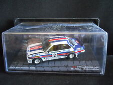 Rally Model Car IXO 1:43 OPEL ASCONA 400 Walter Rohrl & C. Geistdorfer 1986 [MZ3