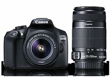 Canon EOS 1300D (EF S18-55 IS II & EF S55-250 IS II) Double Zoom Kit