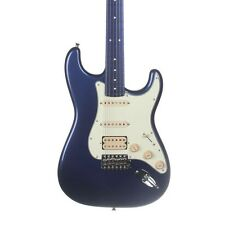 Fender Japan Limited Stratocaster SSH Electric Guitar - Mirage Blue to Green