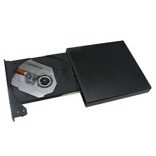 USB 2.0 External Blu-ray BD-ROM Combo 8x Burner Writer Player DVD±RW Drive Black