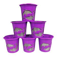 Keurig K Cups Keurig 2.0 and 1.0 Refillable Reusable K Cup Coffee Filter 6-Packs