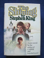 THE SHINING by STEPHEN KING - SIGNED by JOSEPH TURKEL Bartender in Film, 1st Ed.
