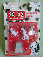 BRAND NEW DISNEY 101 DALMATIANS COMPUTER GAMES ACTION FIGURES MATTEL 66450