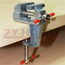 Mini Hand Tools Aluminium Table Vise W/Clamp for Crafts Model Building soldering