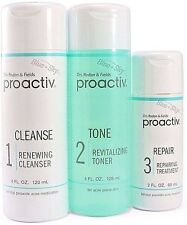 Proactiv 3pc 60 Day Kit cleanser toner lotion Proactive Solution USA 2018 exp