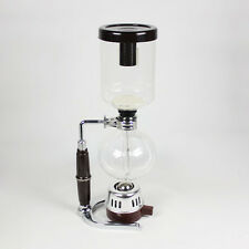 Siphon Coffee Pot Glass Coffee Equipment Vacuum Brew Stove Maker 5 Cups TCA-5