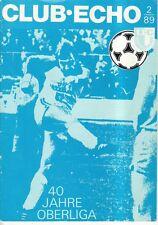 OL 89/90 1. FC Magdeburg - CLUB-ECHO 2/89