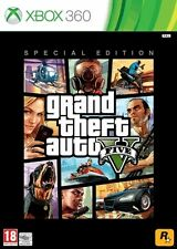 Grand Theft Auto V -- (Microsoft Xbox 360, 2013)