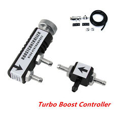 Car 1-30PSI Adjustable Manual Turbo Boost Controller Bleed Valve Universal Black