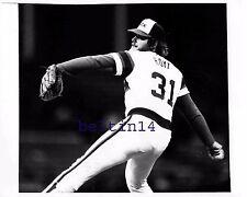 LaMarr Hoyt 1982 White Sox Comiskey Park UPI Wire Photo